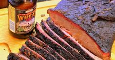 I am in the midst of writing up my practice Thanksgiving meal. It was indeed a special day a week ago when my Sainted Mother came for an. Oven Baked Brisket, Smoked Brisket, Smoker Recipes, Cooking Recipes, Bbq Rub, Barbecue, Cooking With Beer, Thanksgiving Meal, Smoking Meat