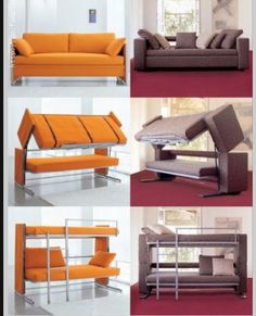 pretty awesome couch/bunk bed!!