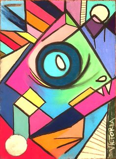 Abstract Cubism by: Victoria Blak