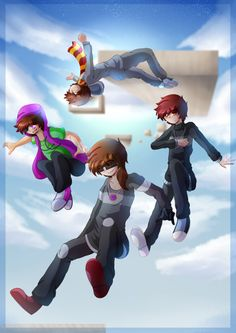 Parkour ( X-RUN) by NightcoreGirl98 on DeviantArt