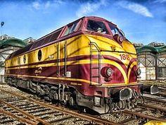 A Vonat, Luxemburg, Mozdony, Vasút
