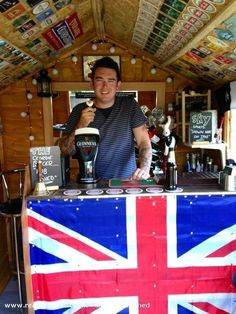 Pub sheds are the rage on Pinterest, and for good reason: they are freaking awesome.