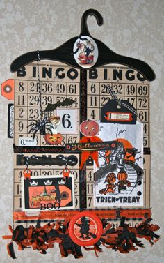 Vintage Halloween Banner Kit