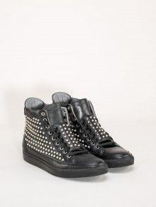 #giacomorelli studded sneakers