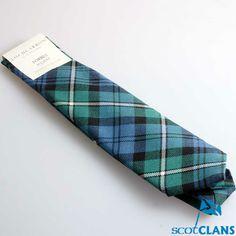 Wool Tartan Tie in C