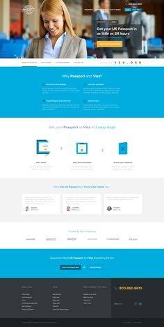 Clean Landing Page by Greg Diubacz