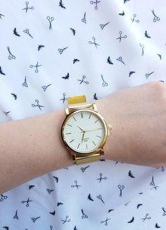 Kup mój przedmiot na #vintedpl http://www.vinted.pl/akcesoria/zegarki/19131350-zegarek-zloty-marki-geneva-wideo-videoopen-idealny-na-prezent