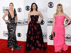 Heidi Klum, Kat Dennings, Melissa Rauch looking beautiful at the People's Choice Awards red carpet