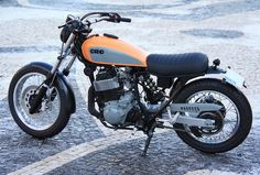 the fool on two wheels Yamaha Xt 600, Enduro Motorcycle, Scrambler, Cars And Motorcycles, Vehicles, Cafe Racers, Intercom, Bluetooth, Wheels