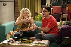 Leonard and Penny, <3 Marry him, you silly woman.