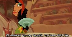 The Emperor's New Groove(I love this movie ♡) Disney And Dreamworks, Disney Pixar, Walt Disney, Disney Love, Disney Magic, Disney Stuff, Emperors New Groove, Disney Quotes, Disney Animation