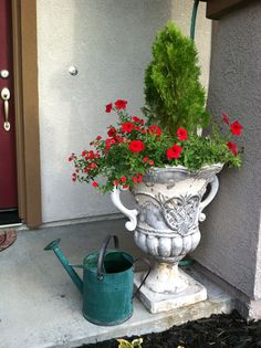 I love the French Country look in my garden.