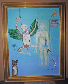 Kurt Cobain was (almost) a painter.