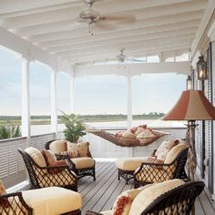 My coastal living ultimate beach house on pinterest for Beach house designs living upstairs