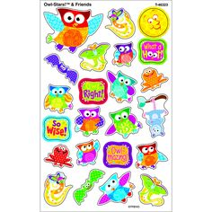 OWL STARS & FRIENDS SUPERSHAPES