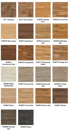 KARNDEAN VAN GOGH - One of the most popular wood plank effect ranges from Karndean