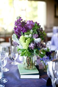Flowers on Pinterest | Ferns, Purple Hydrangea Centerpieces and ...