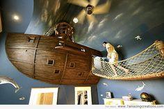 Mind. Blown.   - Creative Beds for Kids - Pirate, Cinderella, etc