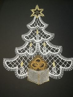 Bobbin Lace Patterns, Lacemaking, Lace Heart, Lace Jewelry, Lace Detail, Machine Embroidery, Christmas Ornaments, Holiday Decor, Crochet