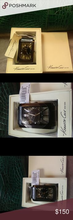New Kenneth Cole new york Watches Metal bracelet Kenneth Cole Accessories Watches