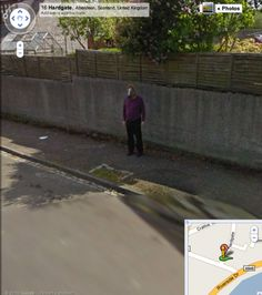 22 Unexplainable Mysteries Spotted on Google Maps...is he wearing a horse head..?