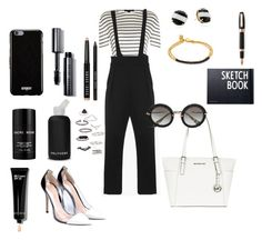 """""""Get ready for work"""" by littlenothing ❤ liked on Polyvore featuring bkr, Gianvito Rossi, Alexander Wang, Bobbi Brown Cosmetics, French Connection, Lalique, MICHAEL Michael Kors, Miu Miu, Topshop and Givenchy"""