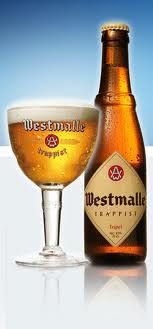Westmalle  is an excellent flemmish beer wich you have to taste. this trappist beer is produced by monks in the countryside near Antwerpen.