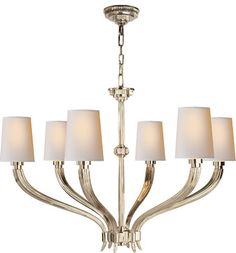 Ruhlmann Large Chandelier - traditional - chandeliers - Circa Lighting