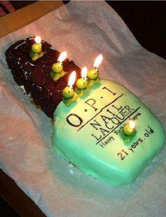 Opi Birthday Cake