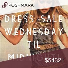 Dresses Priced at Lowest! Buy today for best PRICE Dresses ... Minis, Midis, Maxis, asymmetrical, strapless, little black ones, bright floral ones, casual or dressy... All dresses priced at their lowest for one day only! Sale ends Wednesday night! Buy now for best pricing! Prices will go back to regular price by midnight! Anthropologie Dresses Mini