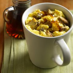 Easy French Toast Egg Mug Scrambler™