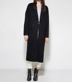 The Best Long Black Coats to Buy Now via @WhoWhatWearUK