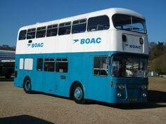 1966 Leyland Atlantean PDR1-1 Metro-Cammell CH54F Double Deck Airport Coach - BOAC https://www.google.co.uk/blank.html