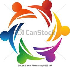 Vector - Teamwork 6 - stock illustration, royalty free illustrations, stock clip art icon, stock clipart icons, logo, line art, EPS picture, pictures, graphic, graphics, drawing, drawings, vector image, artwork, EPS vector art