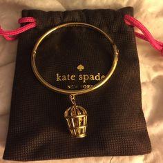 Kate Spade birdcage bracelet Worn one time..it's a beautiful piece kate spade Jewelry Bracelets