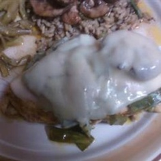 Mushroom and Swiss Chicken
