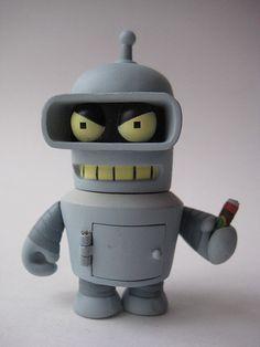 KidRobot Bender Futurama 8480