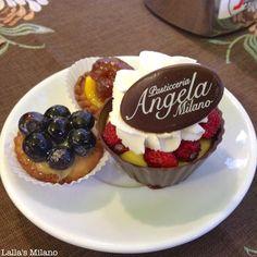 #Buongiorno #Milano! Iniziamo la giornata con un po' di dolcezza! Pasticceria Angela, via Ruggero di Lauria, 15
