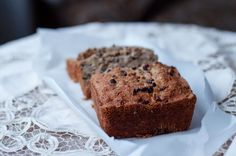 CHOCOLATE CHIP BANANA BREAD W/ WALNUTS AND CACAO NIBS (GLUTEN FREE, DAIRY FREE)