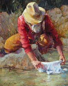 Ann Hardy - Cooling Cloth- Oil - Painting entry - April 2016 | BoldBrush Painting Competition