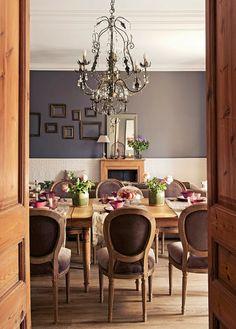 amenajari, interioare, decoratiuni, decor, design interior, apartament, clasic, gri cenusiu, sufragerie