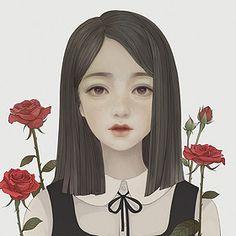 蔷薇の花 林井西