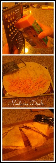 Easy Dinner Recipes for Kids: Cheesy Quesadillas - Madame Deals, Inc.