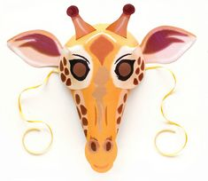 Giraffe Costume, Elephant Costumes, Pig Costumes, Easy Diy Costumes, Animal Costumes, Costume Ideas, Halloween Costumes, Zebra Mask, Owl Mask