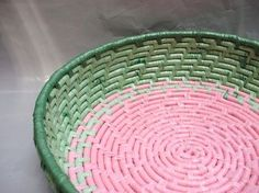 EcoSpark: Reusing & Recycling Plastic Bags There is a video demonstrating how to make plain and begin to crochet with it.