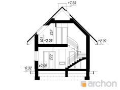 Dom w sasankach Balcony Grill, A Frame Cabin, Cabins, Floor Plans, Exterior, House, Home Decor, Arquitetura, Brick Homes