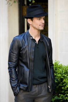 love his leather jacket