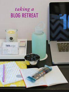 Blog Retreat // Twin Stripe