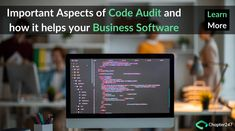 What are the important aspects of code audit and why should consider code auditing? How code auditing helps to know about hidden bugs and error in your business software. Growing Your Business, Starting A Business, Business Software, How To Run Faster, Rubrics, Software Development, Bugs, Purpose, Web Design