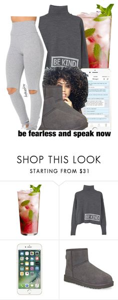 """""""leah143love 📲"""" by leah143love ❤ liked on Polyvore featuring MANGO and UGG Australia"""